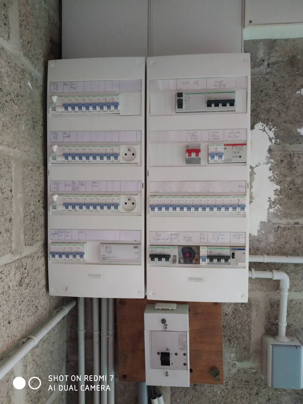 RENOVATION TABLEAU ELEC TRIPHASE Erquy